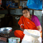 Teashop owner in rural MP
