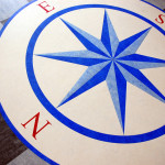 Compass Inlay