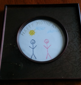 My son made me this when he was 18. I still display it proudly.